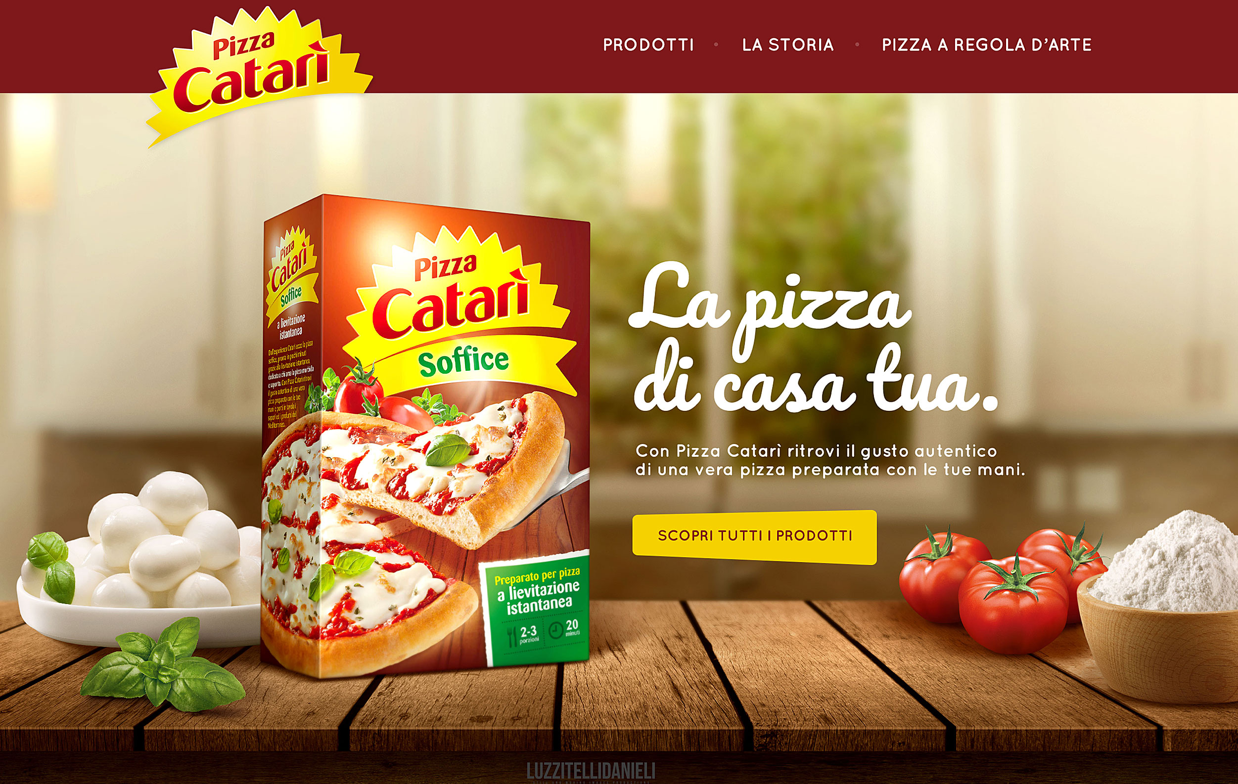 pizza catari'