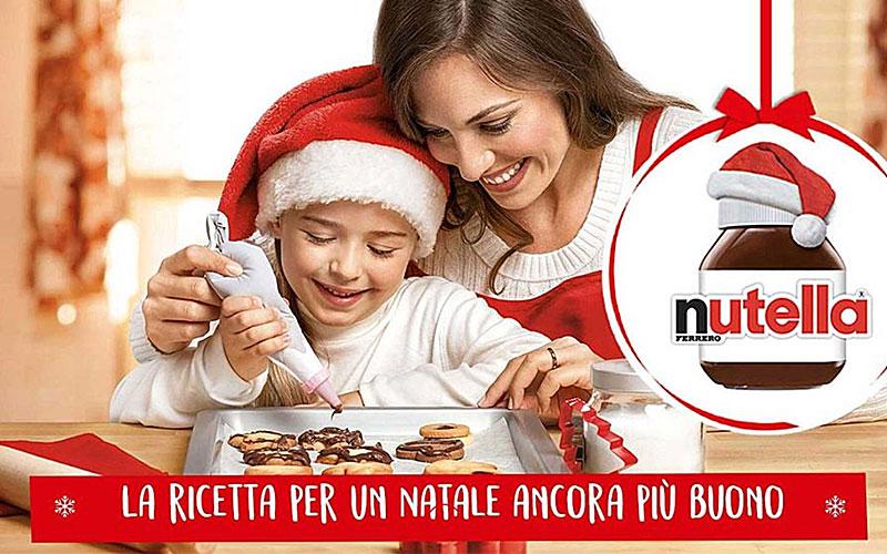 NUTELLA Christmas advertising image NUTELLA christmas bambini luzzitelli danieli productions