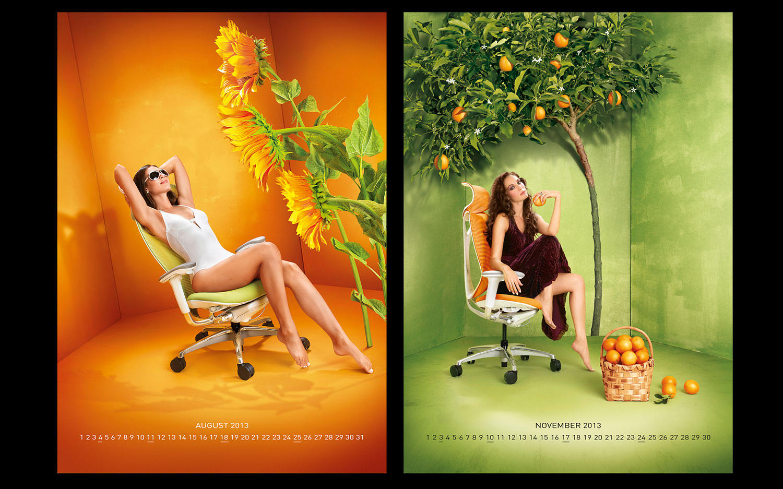 okamura calendar images by luzzitelli danieli