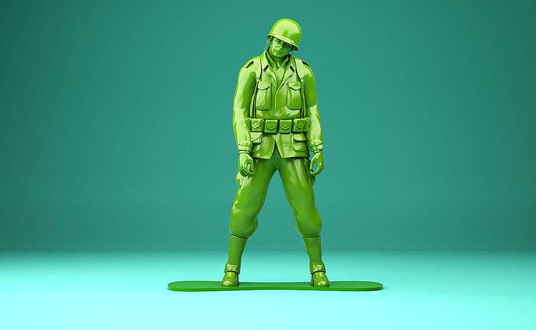 Il soldatino di plastica