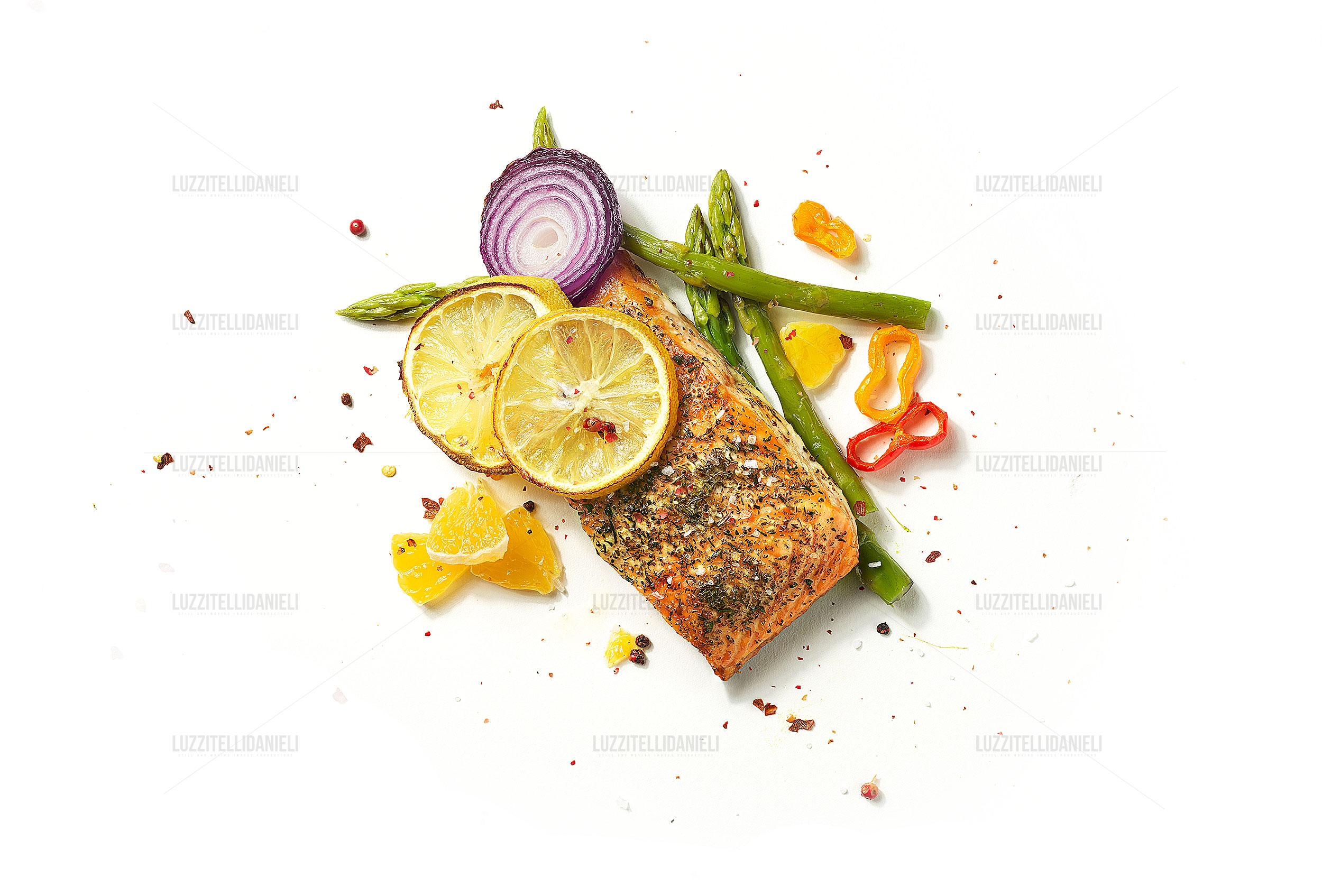 salmone al forno - baked salmon