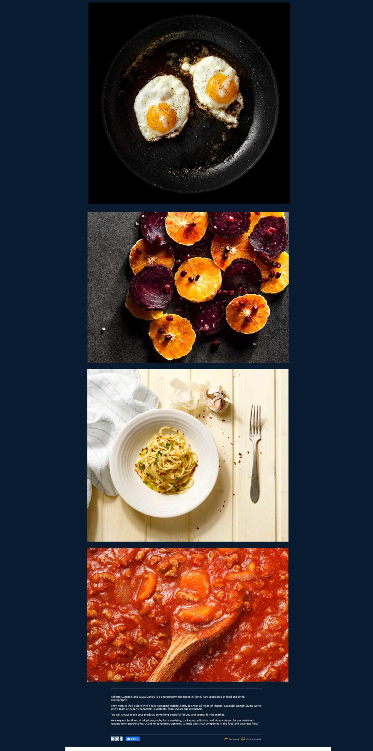 Spotlight magazine food & beverage