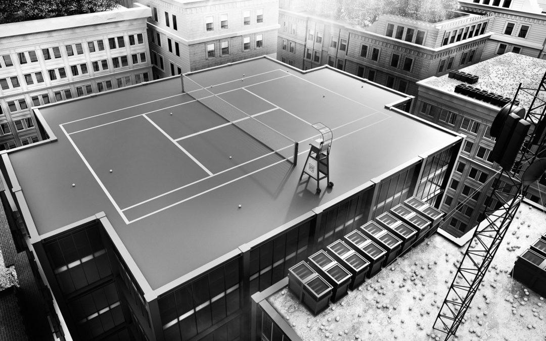 Il tennis secondo Mordillo