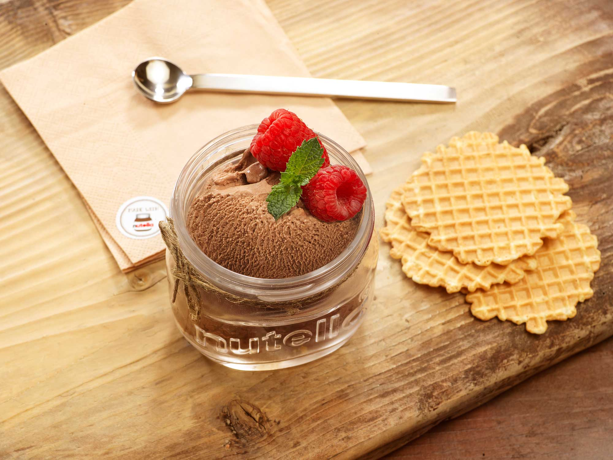 Ice cream shooting with Nutella BY Luzzitelli Danieli productions