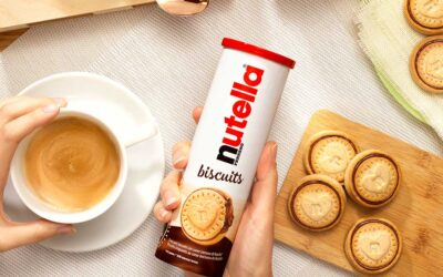 Nutella Biscuits Shooting