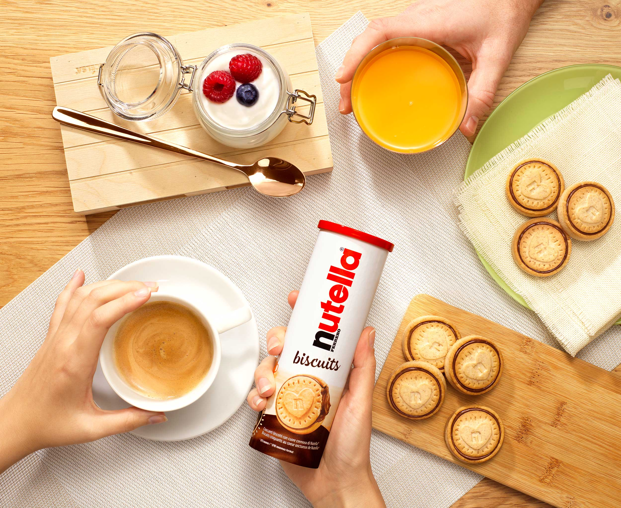 Nutella Biscuits Shooting  Luzzitelli Danieli Productions